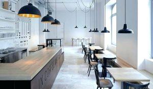 simple design coffee shops